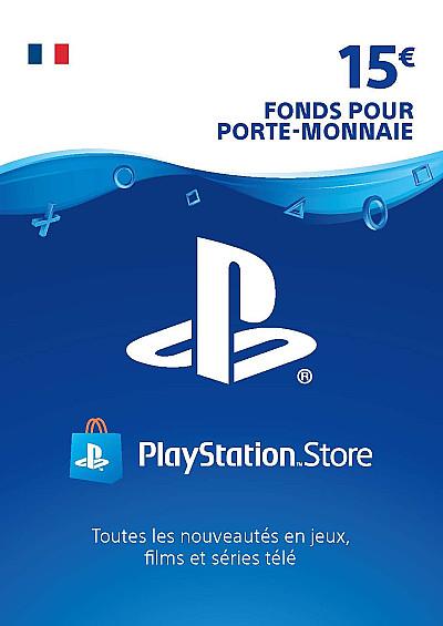 CARTE PSN 15€ FR