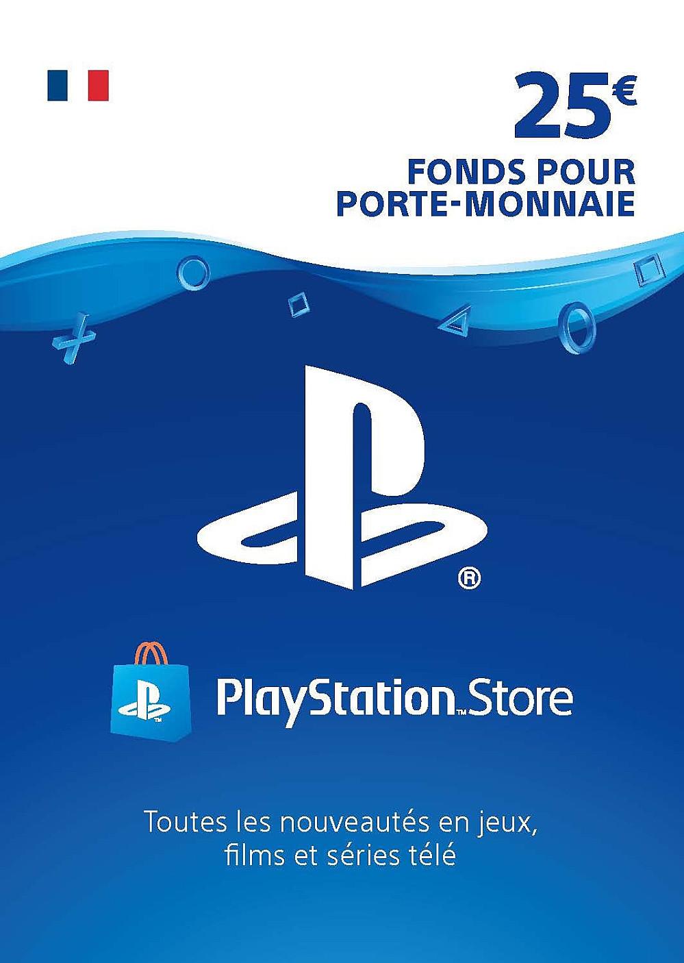 CARTE PSN 25€ FR