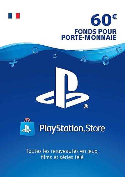 CARTE PSN 60€ FR