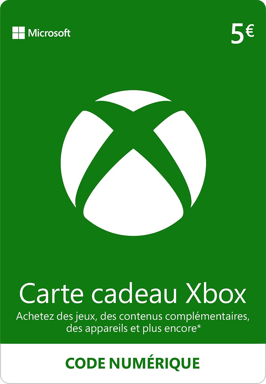 CARTE XBOX LIVE 5€