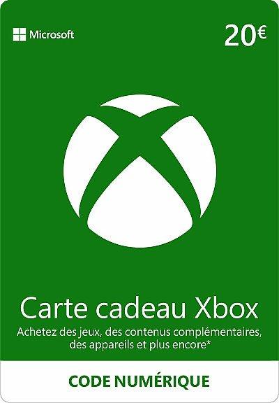 CARTE XBOX LIVE 20€ FR