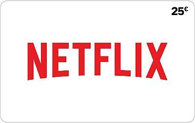 Netflix 25€ FR